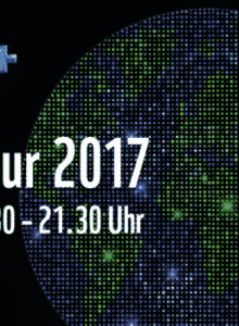 Earth Hour  2017 in Frankfurt: Klimaschützer erzeugen mit Tanzen Energie