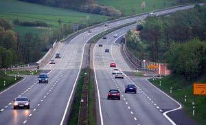 Verkehrsunfälle auf hessischen Autobahnen