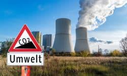CO2-Ausstoß von jährlich rund 6,96 Mio. Tonnen
