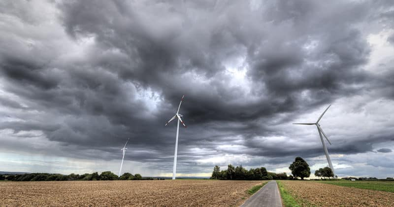 Wetter-Energieversorgung
